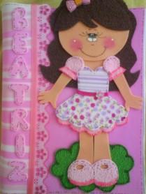 Lindo caderninho personalizado, encomende o seu com o nome e as cores que deseja por apenas R$25,00.